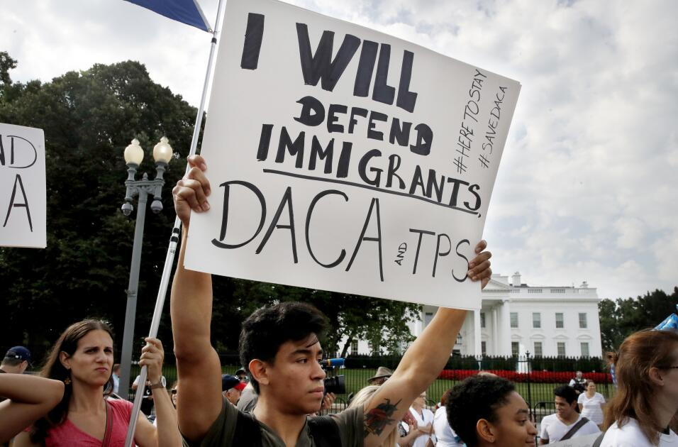 Protestas DACA Washington