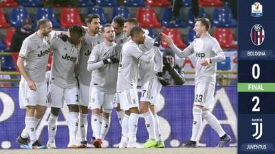 Juventus arranca año con victoria y está en Cuartos de Final de la Copa Italiana