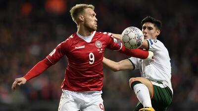 Irlanda vs. Dinamarca en vivo, horario y como ver el partido de la Liga.