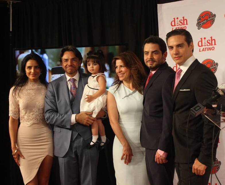 Los hijos de Eugenio Derbez son como sus clones