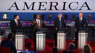 CNBC cambia términos de su debate tras amenazas de Trump y Carson de ret...