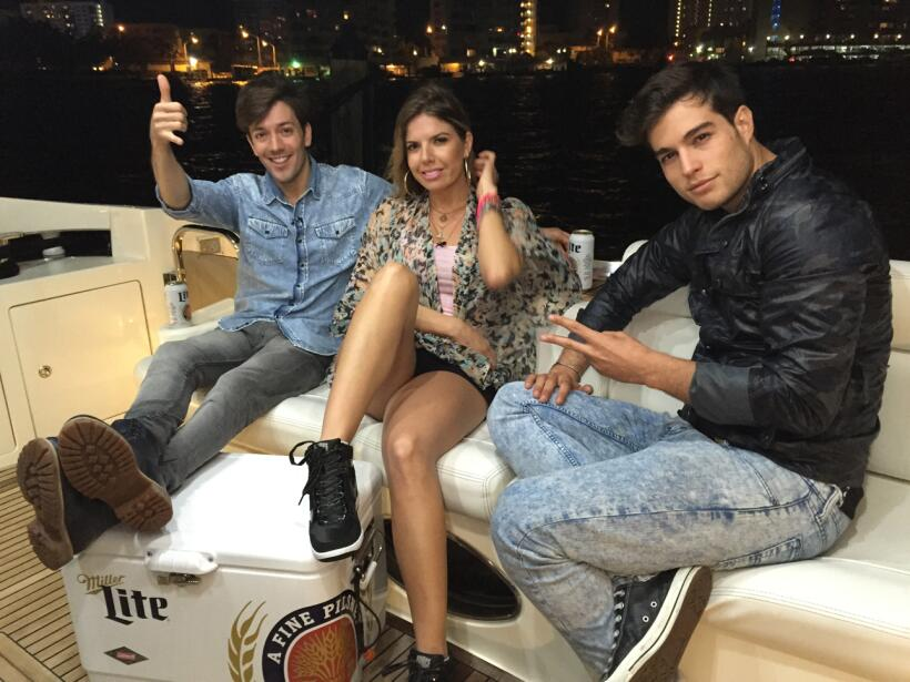 El Camino de Danilo, Fernanda y Roger los llevó a las paradisiaca...