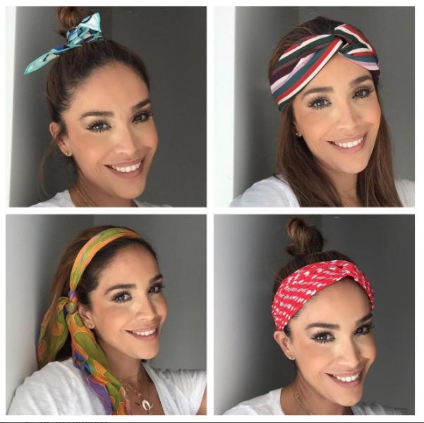 Karla Martínez adora los pañuelos y nos comparte algunas ideas para usar...