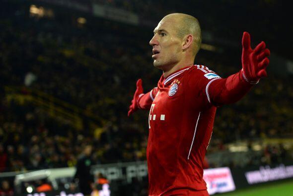 Robben ha encontrado la plenitud de su carrera como futbolista con el Ba...