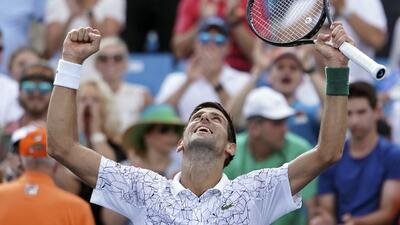 Novak Djokovic conquista Cincinnati, el último Masters 1000 que le faltaba