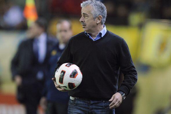 Manolo Preciado se enojó de que su Sporting de Gijón no ganó en Villarre...