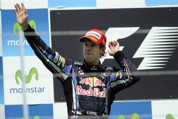 Vettel tendrá dos semanas para celebrar su triunfo antes del Gran Premio...