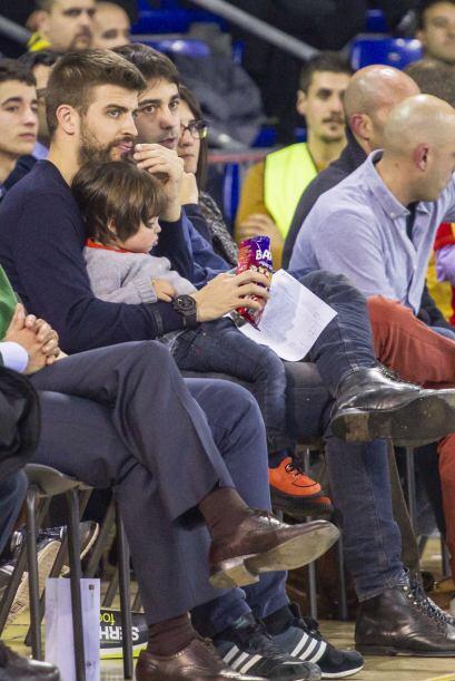 Entonces el futbolista se dispuso a disfrutar del partido, hasta que...