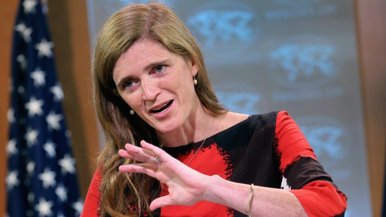 Samantha Power, embajadora de EEUU ante la ONU
