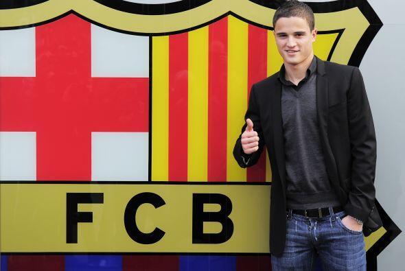 Ibrahim Afellay con Barcelona