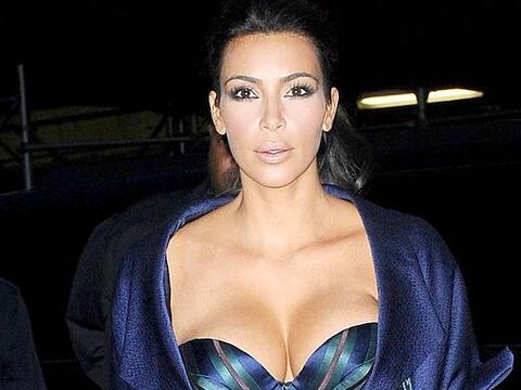 Una vez Kim se roba todas las miradas.Mira aquí los videos m&aacu...