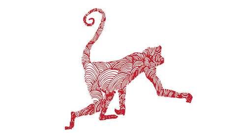 Mono del horóscopo chino