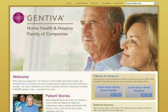 GENTIVA HOME HEALTH AND HOSPICE Cantidad de puestos disponibles: 1,800+....
