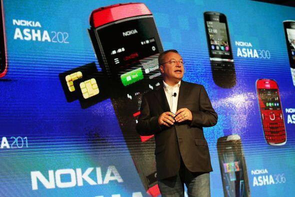 """NOKIA  """"  Situación: El fabricante finlandés de teléfonos móviles regist..."""