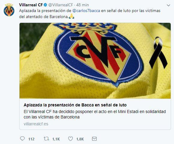 El mundo del deporte se solidariza con las víctimas de Barcelona BCN19.JPG