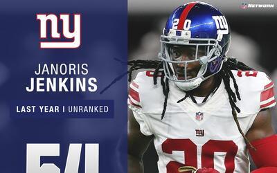 #54 Janoris Jenkins (CB, Giants)   Top 100 Jugadores 2017