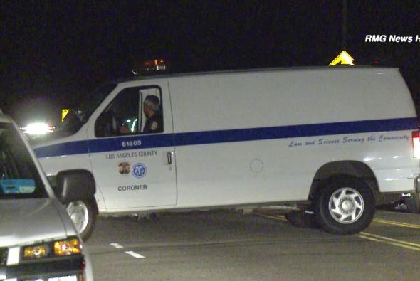 Ambos fueron trasladados en ambulancia al Centro Médico de UCLA p...