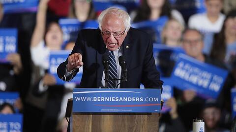 Bernie Sanders: Continuaremos peleando por cada voto y cada delegado que...