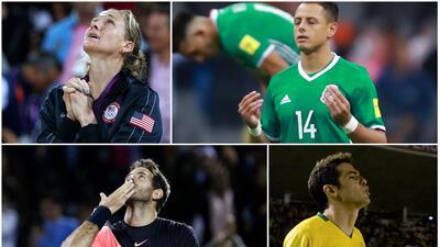Mi fe en Dios: los deportistas católicos y cristianos más creyentes