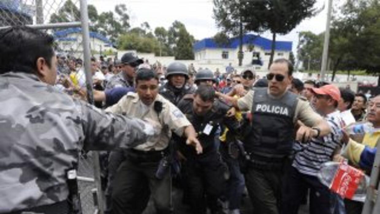 Tras los hechos en Ecuador, una funcionaria de aquel país aseguró que es...