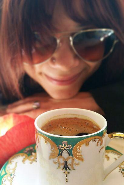 Ahora sí a tomar el café y esperar a que me lean el futuro… ¿Será que ga...