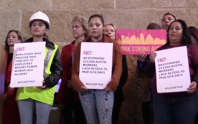 Activistas impulsaron una nueva ordenanza que asegura días pagos...