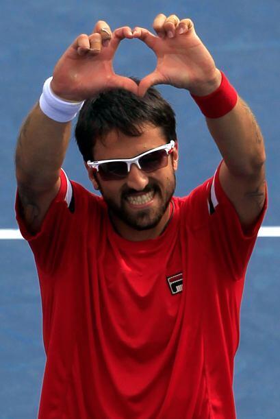 El serbio Janko Tipsarevic[20] venció al español Juan Carlos Ferrero por...