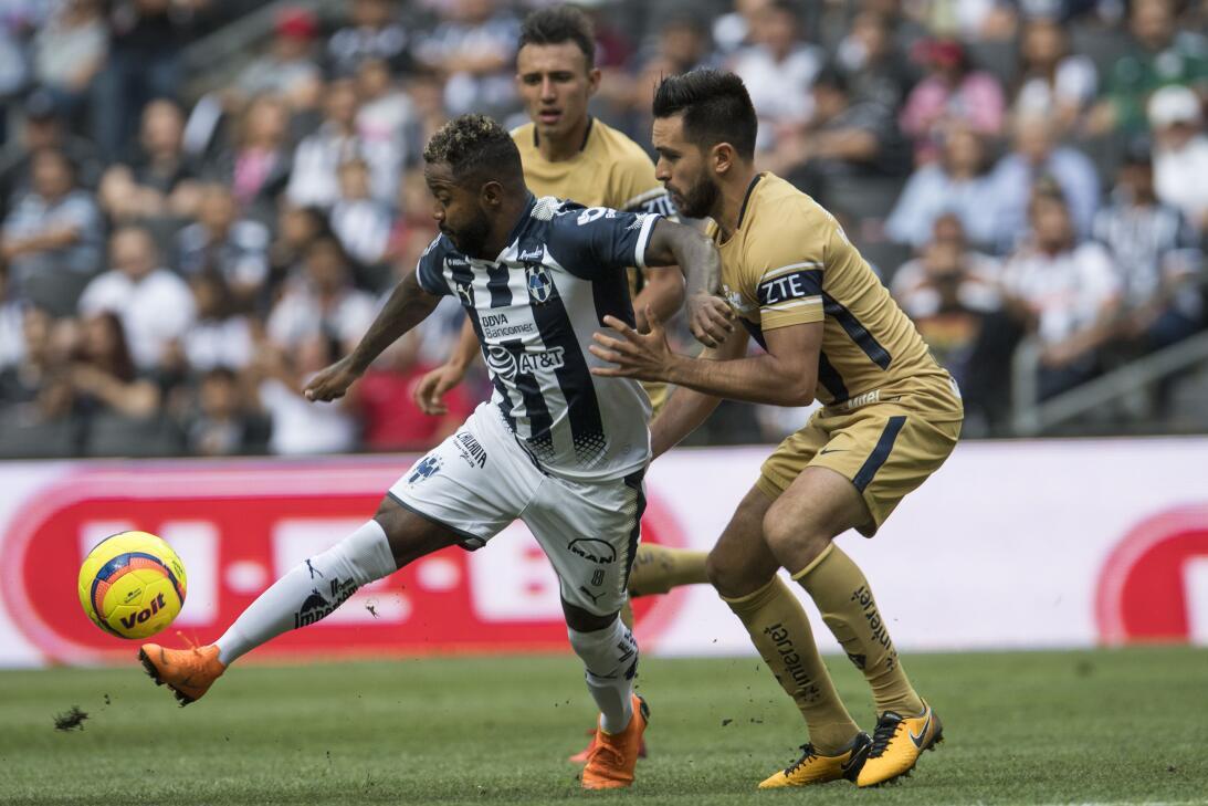 En fotos: Pumas en caída libre y Monterrey le da la vuelta 20180407-1519...