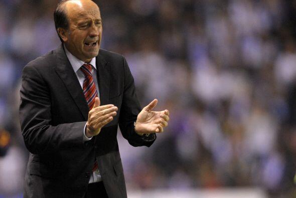 Tristeza contagiosa la de Lotina, entrenador del Deportivo.