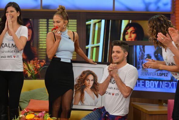 Will estaba muy nervioso de estar frente a su Diva. ¡Qué momento más ine...
