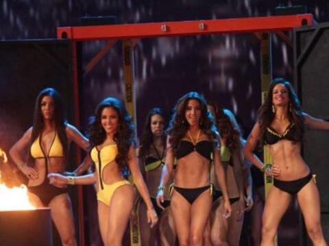 La temperatura subió en la pasarela de Nuestra Belleza Latina con...