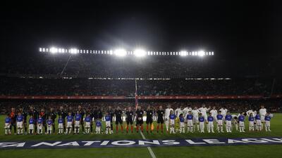 En fotos: Inglaterra da a España su primer traspié en juego oficial en casa desde 2003