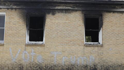 A Baptist Church in Greenville, Mississippi, was set on fire late Tuesda...