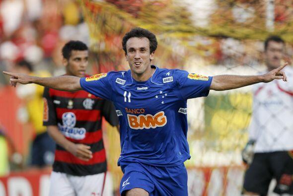 El brasileño Thiago Ribeiro del Cruzeiro fue el goleador de la Libertado...