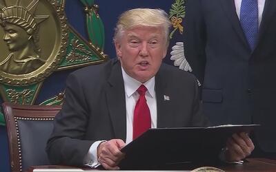 Encuestas señalan a Trump como el presidente con menor popularidad