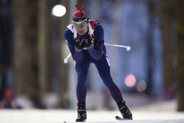 El incombustible Björndalen -que hace 12 años fue el rey de los Juegos d...