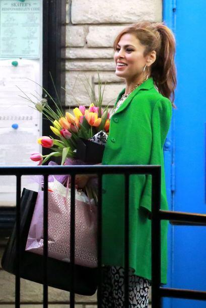 La actriz festejó su cumpleaños 41 el fin de semana pasado...