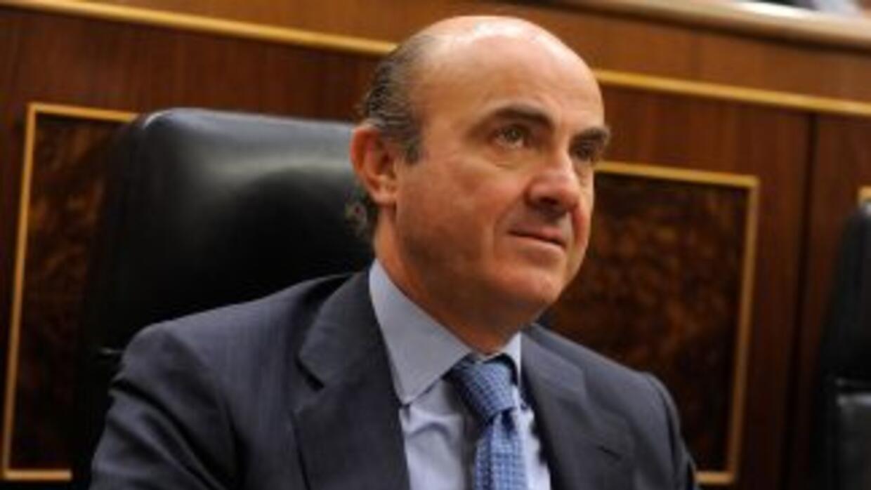 La carta remitida por De Guindos contiene formalmente la petición de ayu...