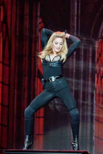 A pesar de los años, la 'Reina del Pop' no se inhibe para nada, pero com...