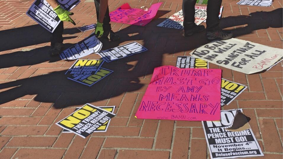Protesta Milo Berkeley