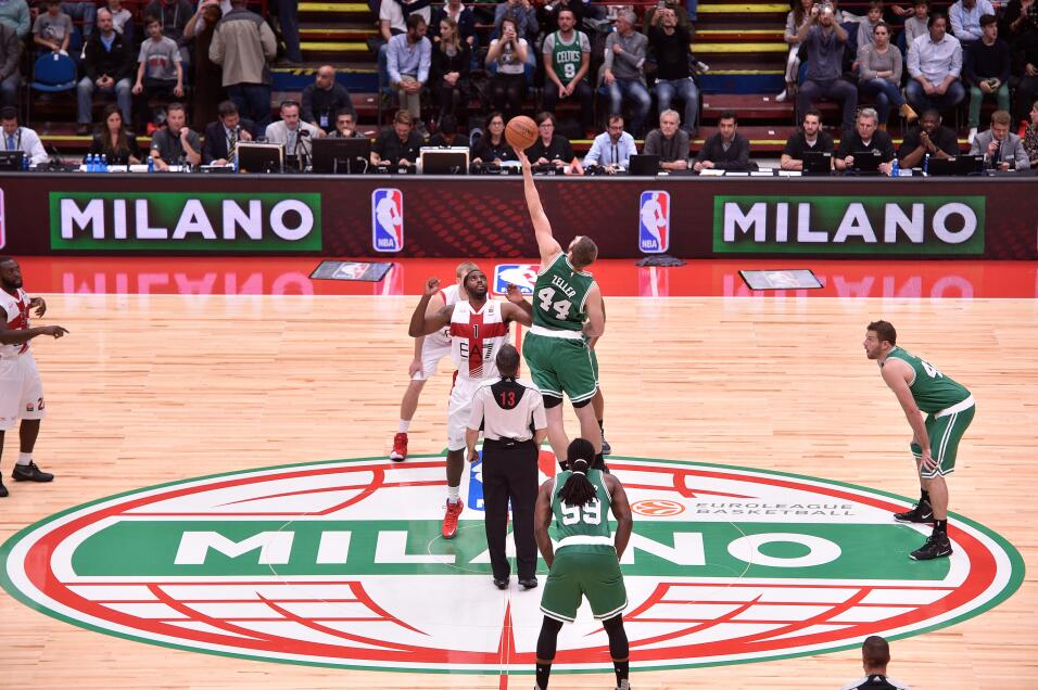 Los Boston Celtics ganaron este martes por 124-91 al Olimpia Milano ante...