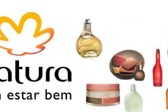1.NATURA. Originaria de Brasil, esta comercializadora de productos de be...