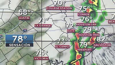 Pronósticos indican posibles aguaceros dispersos en Houston para este domingo