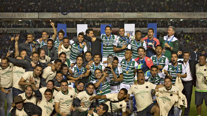 Santos campeón del Clausura 2015
