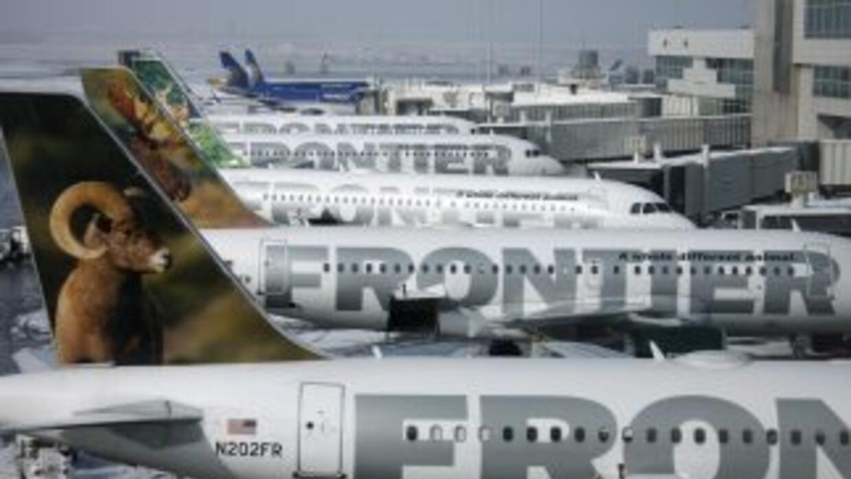 Durante una venta especial de Frontier Airlines tras la expansión de vue...