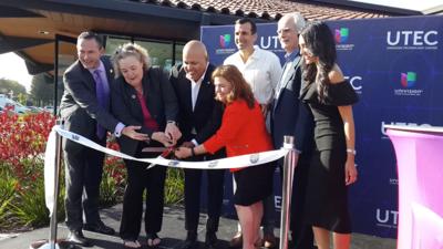 Lanzamiento de UTEC en San José, California