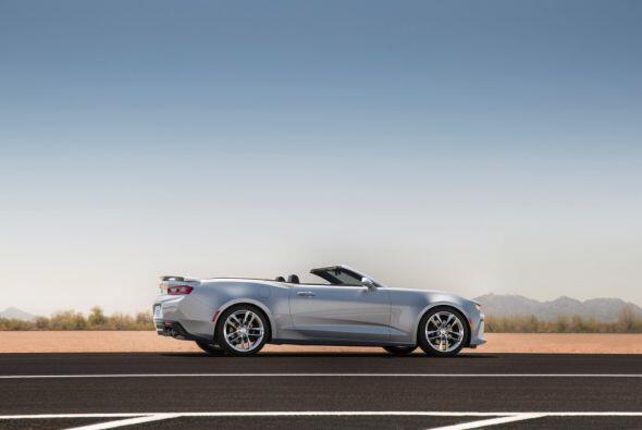 De la cintura para abajo, este convertible es exacto a la versión coupe....