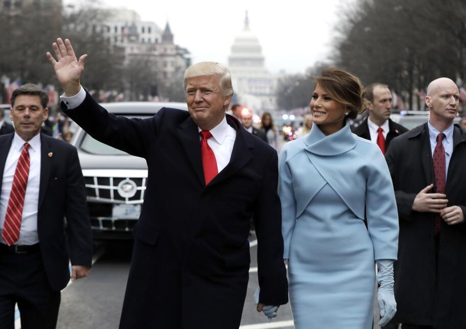 In photos: President Trump is sworn in GettyImages-632228854.jpg