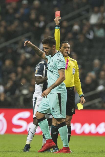 Monterrey empató con Santos y peligra el liderato general ventura-alvara...
