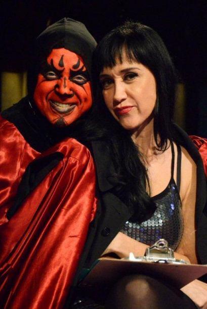 La hermosa Susana Zabaleta engalanó el show con su carisma, sensualidad...